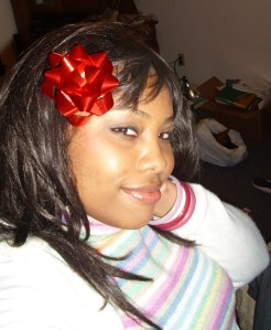 This is the wig I wore to my parent's home while I was visiting. This was when I was just beginning to loc my hair.